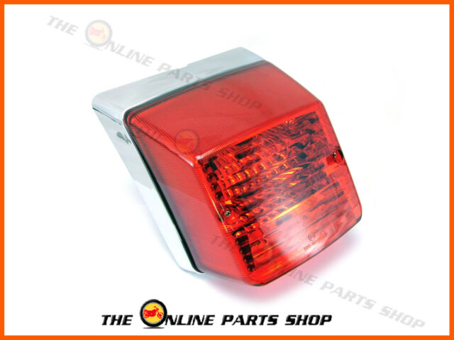 Superior Quality Vespa PX150 Disc My Chrome Rear Tail Light Lamp Bulbs Emarked