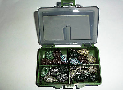 Boxed LEAD WEIGHTS SINKERS visit russthefish for your Sea/Carp fishing tackle