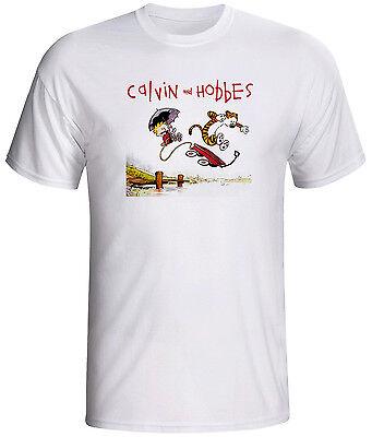 calvin and hobbes shirt comic cartoon