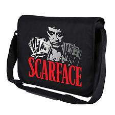 Scarface | Tony Montana | Kult Ikone | Schwarz | Umhängetasche | Messenger Bag