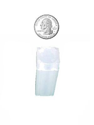 NUMIS SQUARE DOLLAR 38 MM COIN TUBES 10