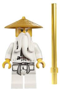 new lego ninjago sensei wu minifig figure 9450 70505 master