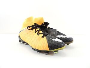 sports shoes 2b5b4 c5f1f Details about Nike Hypervenom Phantom III 3 DF FG Orange Black Soccer  Cleats 860643-801 Size 6