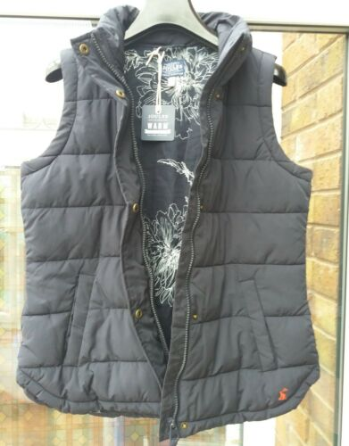 £ Padded Uk10 Dames Rrp Eastleigh 65 Gilet Marineblauw Joules Bnwt tP8qTn