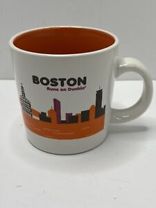 Dunkin Donuts Boston Coffee Mug 2012 12 ounce Destination Collection