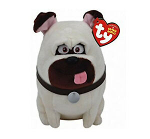 Outstanding Details About Ty Beanie Baby Secret Life Of Pets Mel Pug Dog 6 Plush Beanbag Usa Ships Free Machost Co Dining Chair Design Ideas Machostcouk