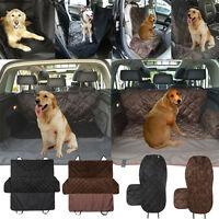 Waterproof Pet Dog Cat Car Front Rear Back Seat Cover Travel Mat Hammock Blanket