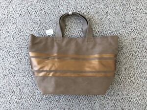 b4cd55dd0 NWT! NEIMAN MARCUS Gold Brown Beige Tote Bag Navy Blue Purse Leather ...