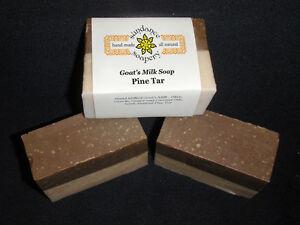 Homemade Goat's Milk Soap ~Pine Tar