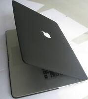 "Black Matt Rubberized Hard Case Cover Skin For MacBook PRO 15""/15.4 A1398 Retina"