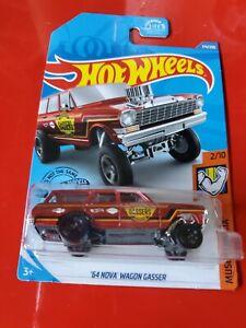 /'64 Nova Wagon Gasser 2020 Hot Wheels Muscle Mania #174