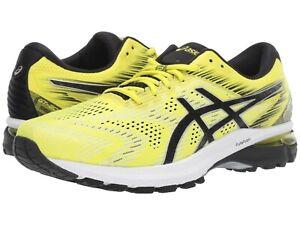 ASICS-GT-2000-8-Mens-Athletic-Lightweight-Running-Shoes-1011A690-Sour-Yuzu-Black