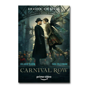 Carnival Row TV Series Orlando Bloom Cara Delevingne Silk Canvas Poster 24x36/'/'