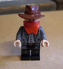 Lego The Lone Ranger - Kyle Figur Cowboy Western Bandit Räuber mit Halstuch Neu