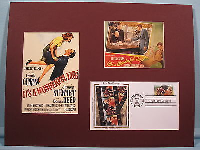 It's A Wonderful Life Directed Frank Capra & First Day Cover Dependable James Stewart Other Movie Memorabilia Entertainment Memorabilia