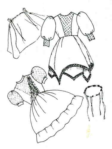 Sew Adorable Doll Clothes Pattern fits American Girl Victoria/'s First Communion