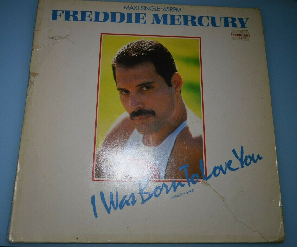 Freddie Mercury – I Was Born To Love You (Extended Version). Vinilo...