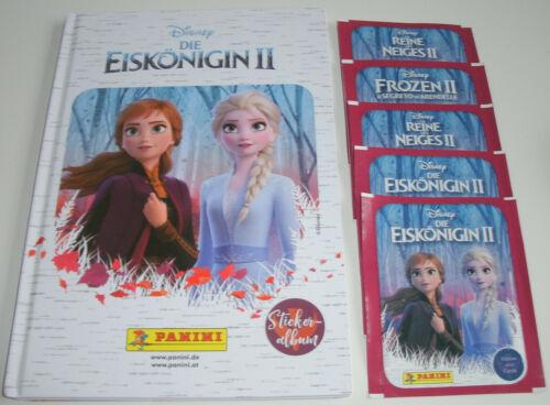 Panini Die Eiskönigin 2 Frozen 5 Tüten Hardcover Album Neu /& OVP
