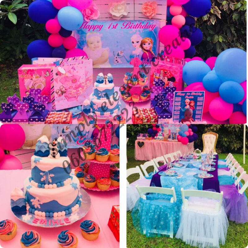 Frozen themed party decor for hire | City Centre | Gumtree ...