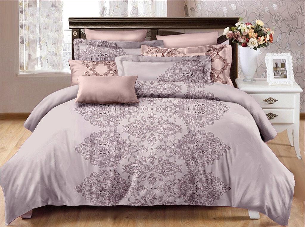 Queen King SuperKing Size Bed Duvet Doona Quilt Cover Set New Ar M263