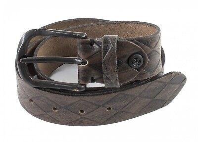 Clever B.belt Ledergürtel W85 Gürtel Accessoire Grau Taupe - Anthrazit Grau Braun Grau VerrüCkter Preis