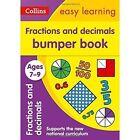 Fractions & Decimals Bumper Book Ages 7-9 (Collins Easy Learning KS2) by Collins Easy Learning (Paperback, 2017)