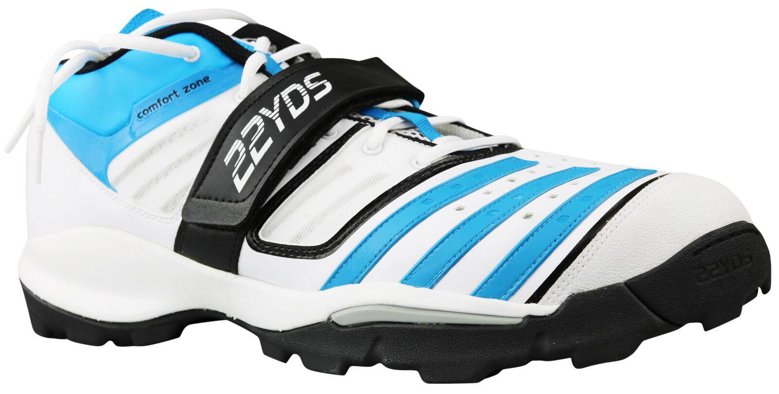 Adidas Twenty2yds Mid IV Herren Cricket Schuhe Stiefel D67043 Gr. 50 5 NEU & OVP
