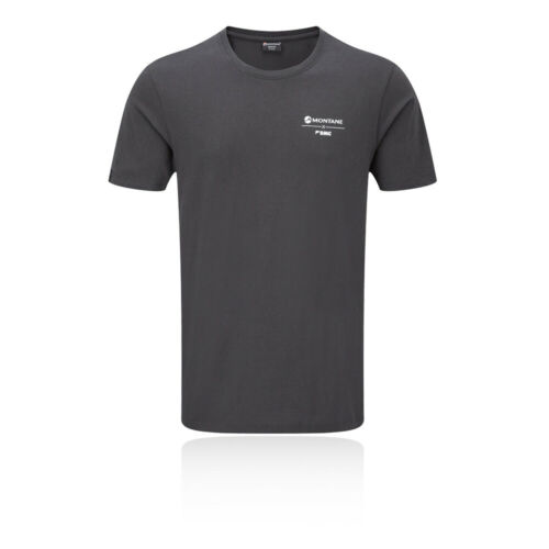 Montane Mens Crag Calls T Shirt Tee Top Grey Sports Climbing Breathable
