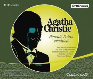 Agatha-Christie-Hercule-Poirot-ermittelt-15-CD-5-Krimi-Hoerbuch-CDs-NEU-TOP