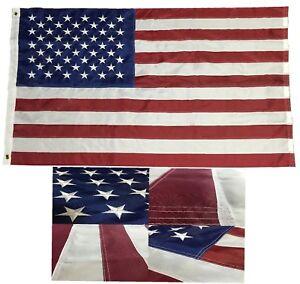 3x5-Embroidered-American-Flag-USA-220-D-Nylon-Flag-Stars-Durable-Long-Lasting