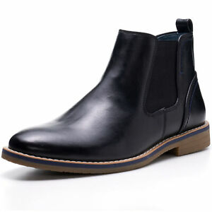 Alpine-Swiss-Mens-Owen-Chelsea-Boots-Pull-Up-Ankle-Boot-Genuine-Leather-Lined