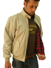 Campbell Cooper Nuevo Classic Harrington Jacket Mod Piel Soul Crema Grandes