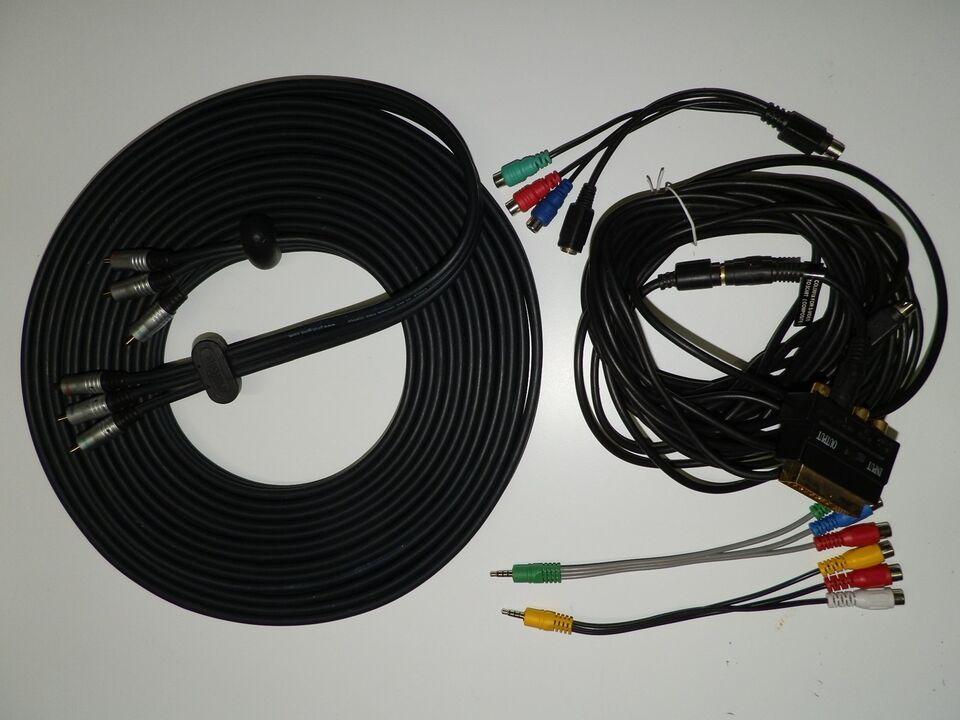 10 m. Interconnect kabel, 10 m Profigold Interconnect + 10 m