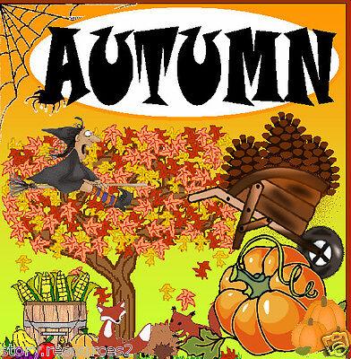 Autumn Teaching Resources Free Halloween Harvest Festival Eyfs Ks1 Seasons Ebay