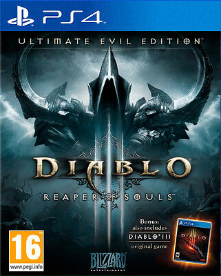 Diablo III (3) Ultimate Evil Edition PS4