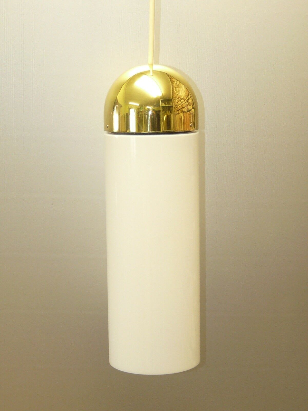 Rare XL pendant light, by  Glashütte LIMBURG, Germany, Gold  Glass  (13 avail.)