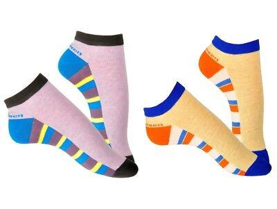 Women Girl Cotton Trainer Socks Anchor Motif One Size Steven