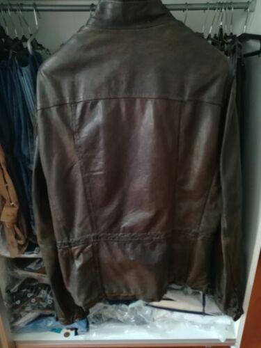 Jacke Leder Leather Brato Militare Jacket Xl 54 Giorgio Amk Bomber 52 qAnwUxz6