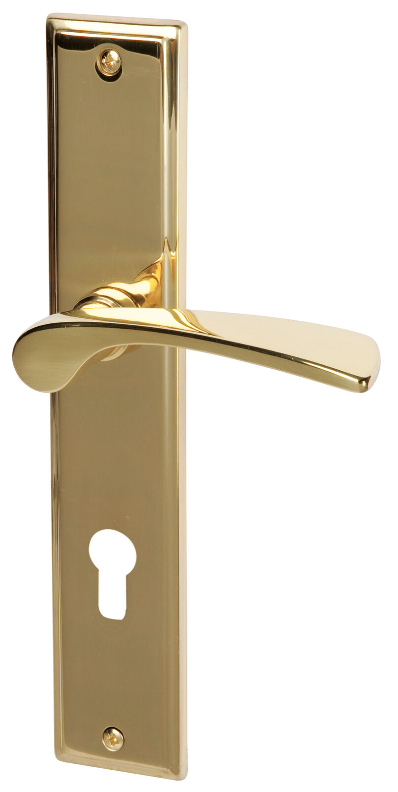Südmetall Türbeschlag Türbeschlag Türbeschlag Nelson Messing poliert für W-Eingangstüren 32215853 | Modernes Design  a62413