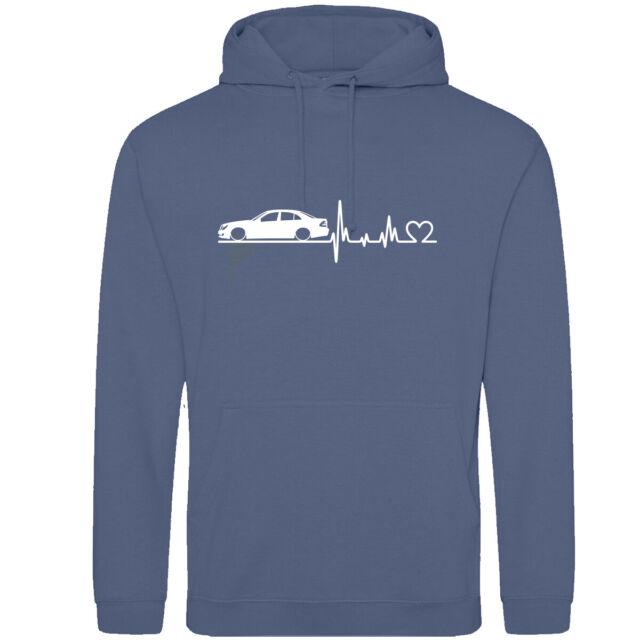 Mercedes Benz Frontprint Hoodie AMG Pulli Sweatshirt Kapuze Pullover Tuning Kult
