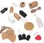 50-100-Regalo-di-Natale-Carta-Kraft-Tag-Prezzo-matrimonio-conchiglia-etichetta-bagaglio-in-bianco miniatura 1