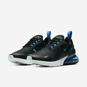 Detalles acerca de Nike Air Max 270 Zapatos Para Correr Negro Azul