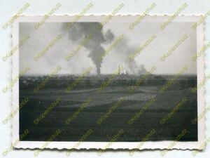 Foto-Wehrmacht-Blick-auf-das-brennende-Traubitsch-Polen-b-N-19728