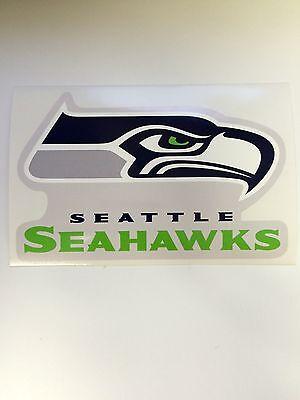 Seattle Seahawks Vinyl Sticker Decal Laptop Car Cornhole Wall Pick a size