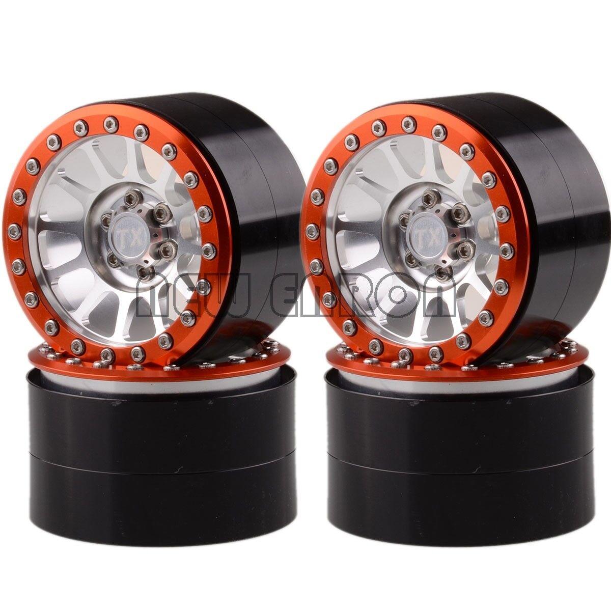 4PCS in tuttiuminio 12 12 12 Raggi Lega Ruote 2.2  per Assiale Yeti Wraith Crawler RC fd166b