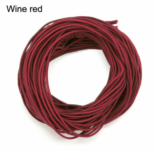 Elastic Cord String for Bracelets Necklace Beading 20Yards 1mm Round Rope Band