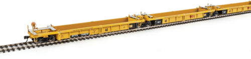 Walthers HO Scale Thrall 5-Unit Rebuilt 40/' Well Car TTX//DTTX//Red Logo #748210