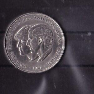 Medalie-Silber-Lady-Diana-Koenigin-Elisabeth-Prince-von-Wales