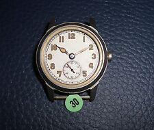 30)⌚ BULOVA 40er Vintage Military Watch WW II WK 2 US Army Parts Case Mouvement