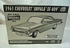 JEB 1961 Chevy Impala SS 409 Roman Red Metal Pre-Painted Body Model Kit